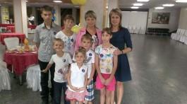 Сім'я Циганенків та Наталія Сиворакша