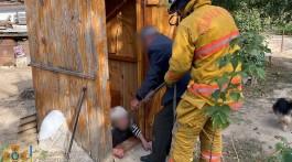 На Запоріжжі жінка впалау вигрібну яму
