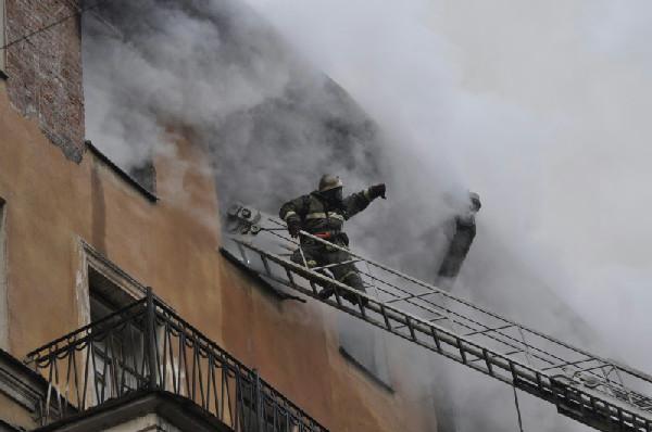 пожарные-спасают