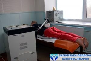 Анатолий Владимирович проходит физиотерапию