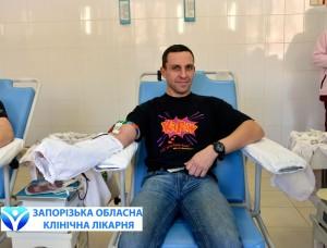 Сотрудники ЧАО «Запорожкокс» приняли эстафету по сдаче крови_6