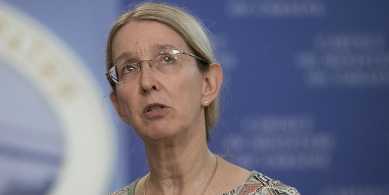 Acting Minister of Healthcare Uliana Suprun