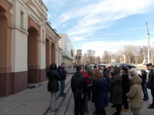 Здание кинотеатра Ленина отреставрировано но к сожалению бесхозно
