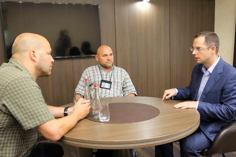Встреча Ростислава Шурмы с представителями ОБСЕ