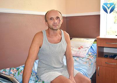 ФОТО 1_Хирурги Запорожской облбольницы дважды спасали Валерия Федоровича от острой кишечной непроходимости
