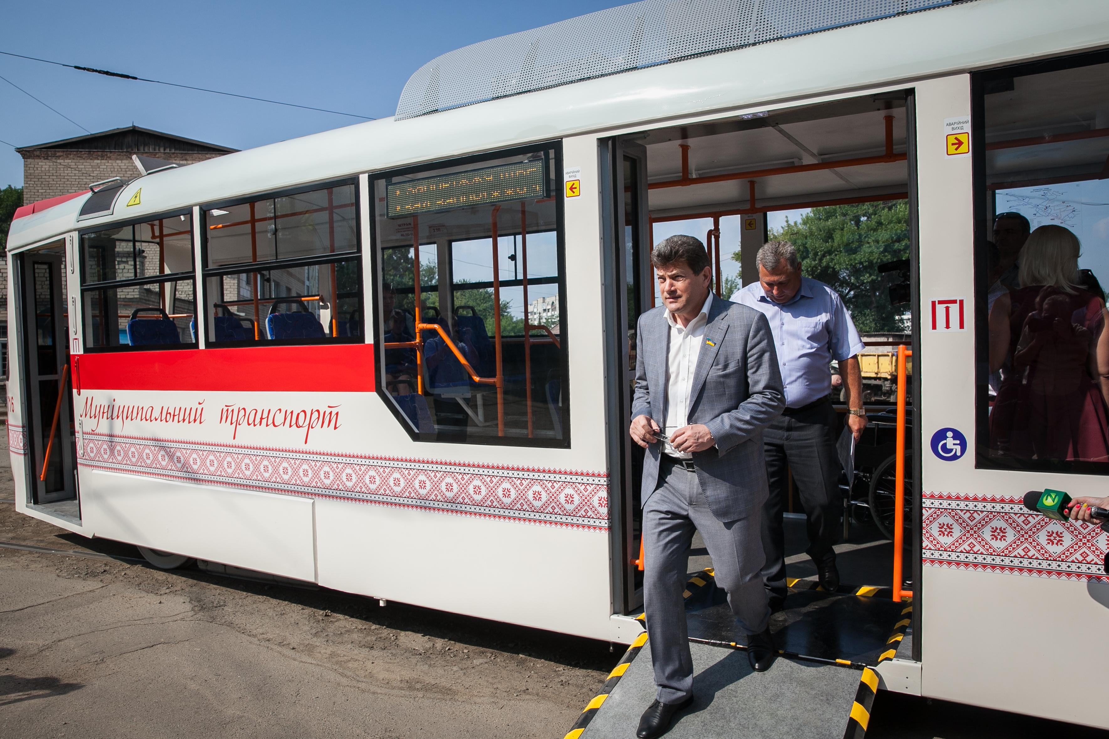 запорожский трамвай (2)