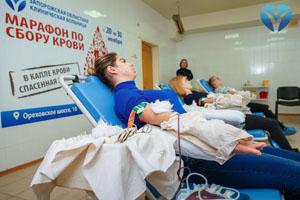 Фото 1_Студенты Запорожского медицинского колледжа своим примером призвали всех запорожцев поддержать марафон донорства