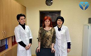 Фото 2_Невропатологи Запорожской облбольницы помогают пациентам снова встать на ноги