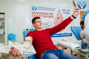 Фото 9_Студенты Запорожского медицинского колледжа своим примером призвали всех запорожцев поддержать марафон донорства