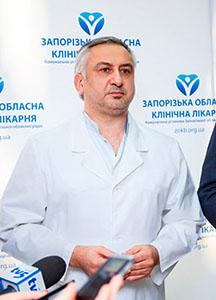 Главный врач ЗОКБ Игорь Шишка