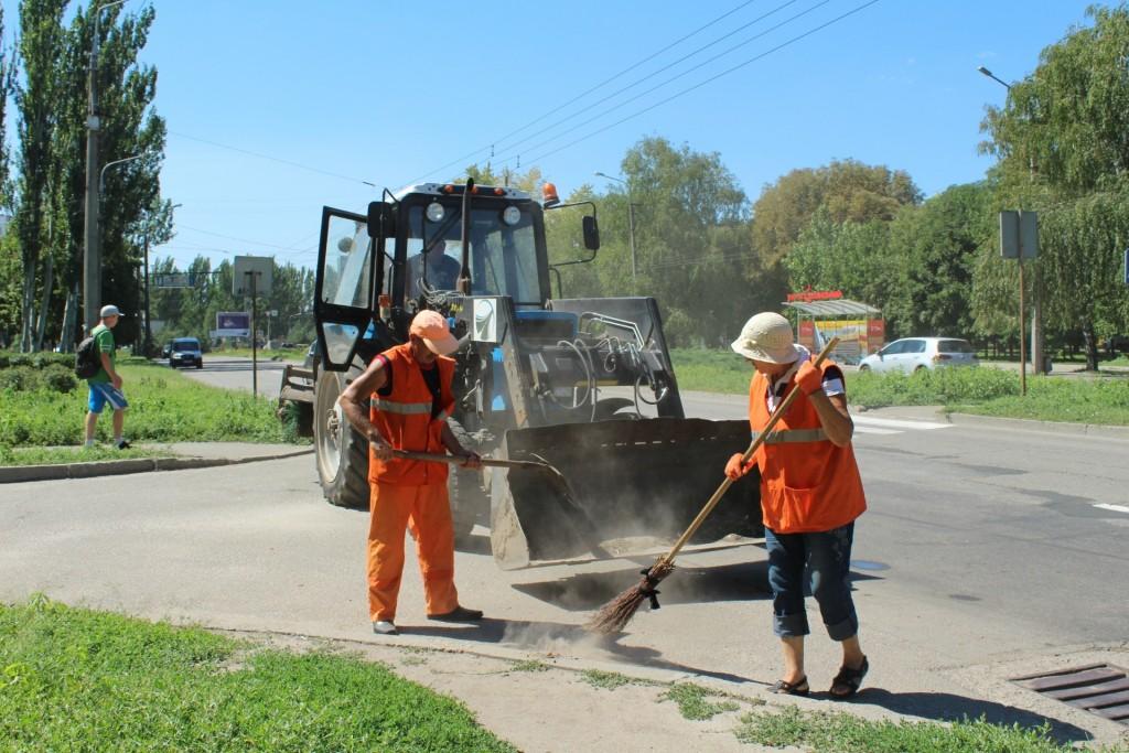 ручная уборка дорог