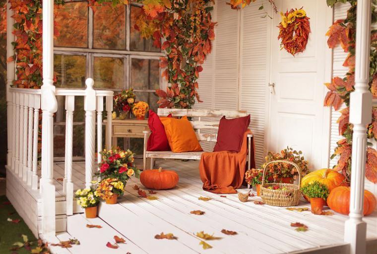 6 способів прикрасити дім восени