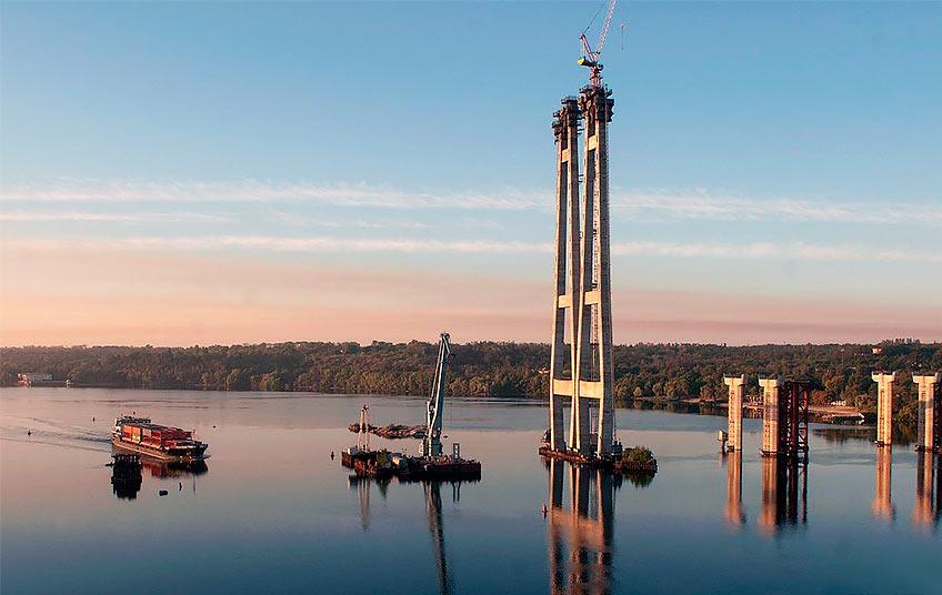 До будівництва запорізьких мостів залучили китайську компанію