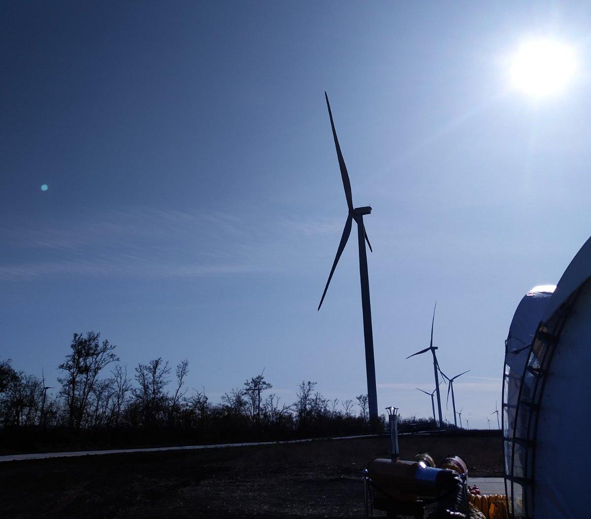 У Запорізькій області відкрили ще одну вітроелектростанцію