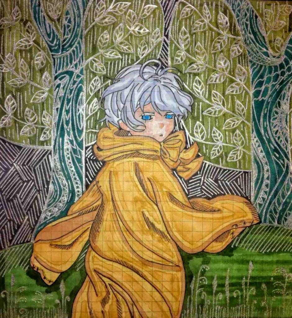 14-ти річна Влада полюбляє малювати аніме