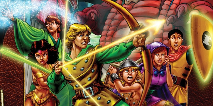 Гра Підземелля та дракони надає можливість їгрокам відчути себе ким завгодно, від воїна до чарівника