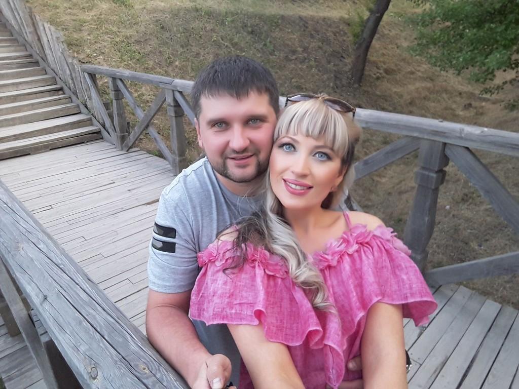 Ольга Белікова з чоловіком Антоном