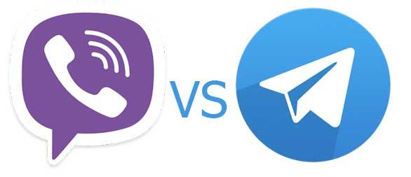 Telegram та Viber