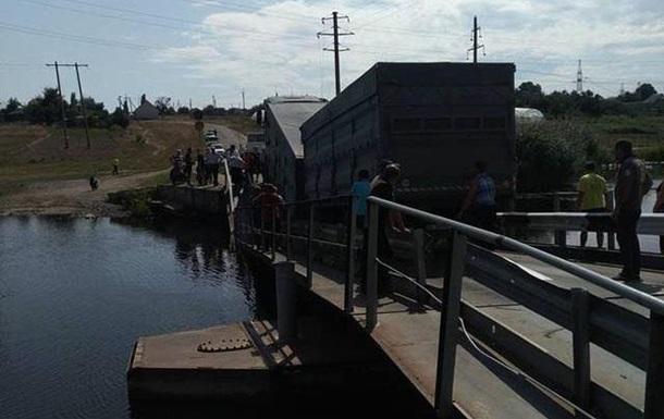 На Миколаївщині обрушився обмежено працездатний міст - виявляється, є й такі
