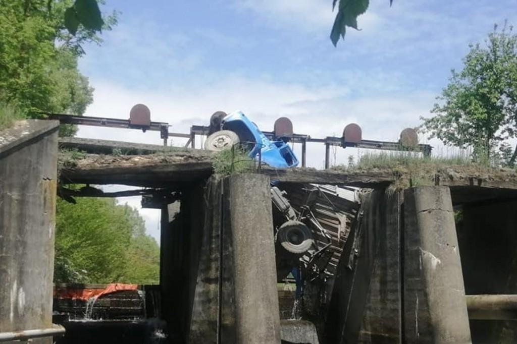 У Тернопільській області 8 червня обрушився ще один міст