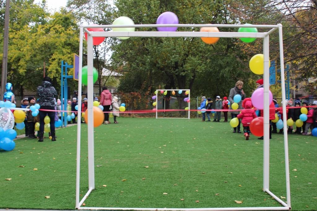 Завдяки «Громадському бюджету» в Центрі розвитку дитини «Надія» з'явився новий ігровий комплекс