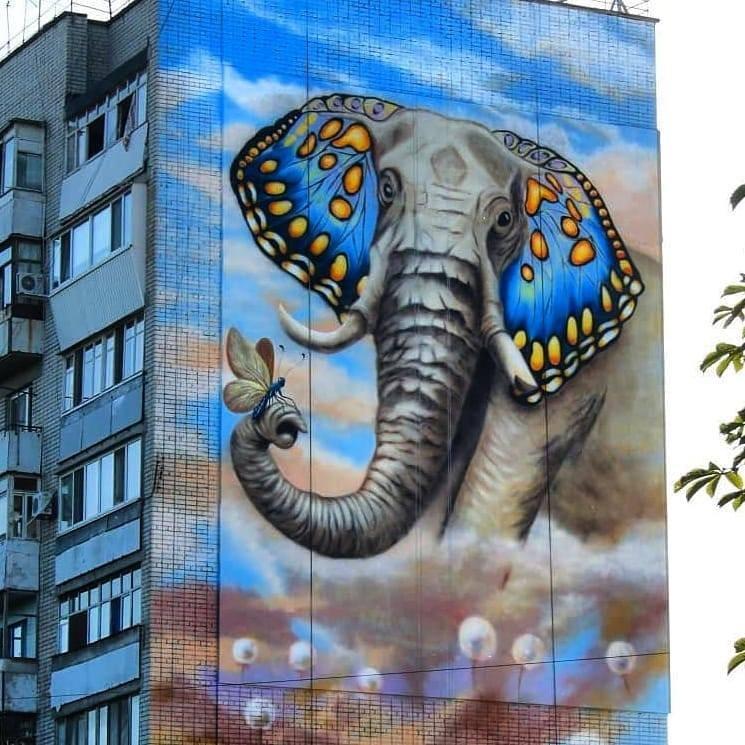 Слон_i_метелик