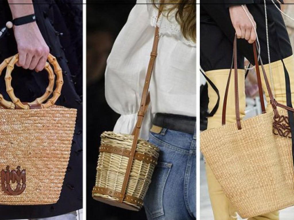 плетені сумки