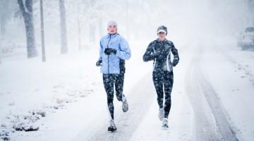 Біг взимку