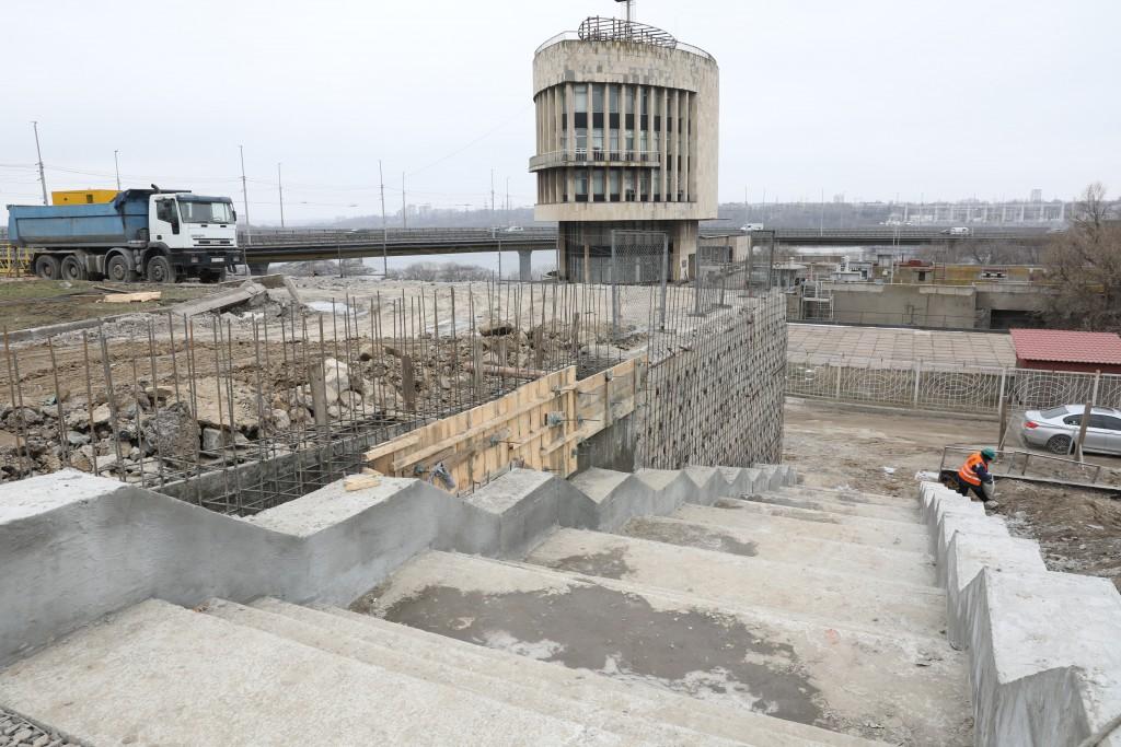 Капітальний ремонт площі Запорізької